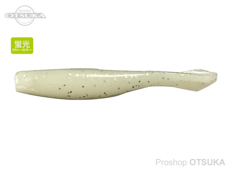 バークレイ パワーベイト 1.5インチ スライダーシャッド 1.5インチ 3.8cm #ホワイトグローシルバーフレーク