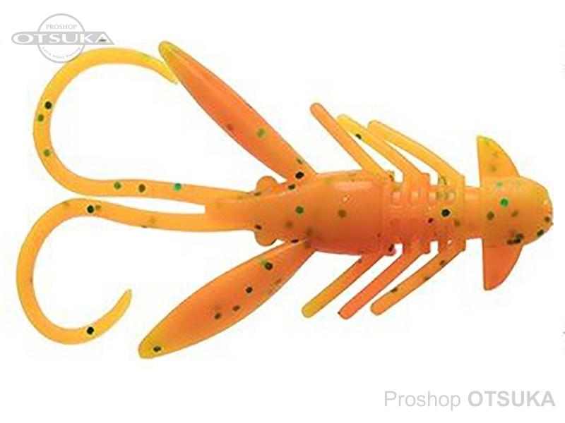バークレイ パワーベイト 1.5インチ ホッグ 1.5インチ/4cm #チャートリュースグリーンブラックフローセントオレンジ