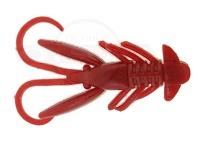 バークレイ パワーベイト - 1.5インチ ホッグ # レッド 1.5インチ/4cm