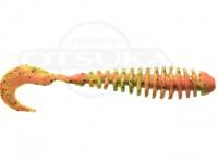 バークレイ ガルプ - パルスワーム3.2インチ #チャートグリーンブラックフレークオレンジ 3.2インチ 8cm