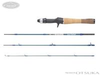アブガルシア ズームサファリ - ZMSC-464L 自重90g 仕舞寸法41.4cm 137cm ルアー2-8g ライン4-8lb