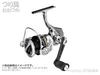 アブガルシア ゼノン - 2500SH  ギヤ6.2:1 自重148g 6lb-100m