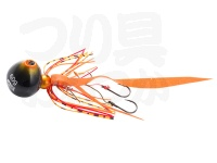 アブガルシア ソルティーステージ - カチカチ玉  # シュリンプオレンジ ネクタイ:カーリーテール 120g+15g