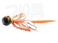 アブガルシア ソルティーステージ - カチカチ玉  # シュリンプオレンジ ネクタイ:カーリーテール 140g+15g