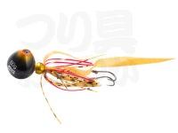 アブガルシア ソルティーステージ - カチカチ玉  # オレンジゴールド ネクタイ:カーリーテール 140g+15g