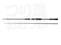 アブ 黒船 - ライトイカ KLIC-180M 8:2 先調子 180cm PE0.8~1.5号 錘負荷30~100号