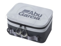 アブガルシア ABU 防水タックル保護ケース -  #ホワイト/チャコール 22×15×12