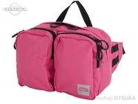 アブガルシア ABU ヒップバッグスモール3 - 1523802 #ピンク 25(W)×18(H)×10(D)cm