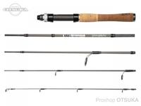 アブガルシア ズームサファリ - ZMSS-505L 自重88g 仕舞寸法35.6cm 152cm ルアー2-8g ライン3-6lb