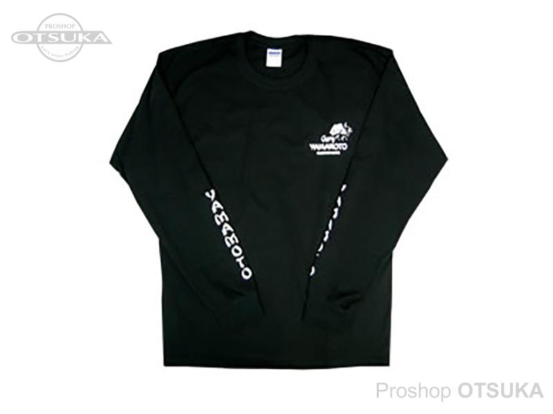 ゲーリーヤマモト ゲーリーロングスリーブTシャツ ゲーリーロングスリーブTシャツ Mサイズ(日本サイズL) #ブラック