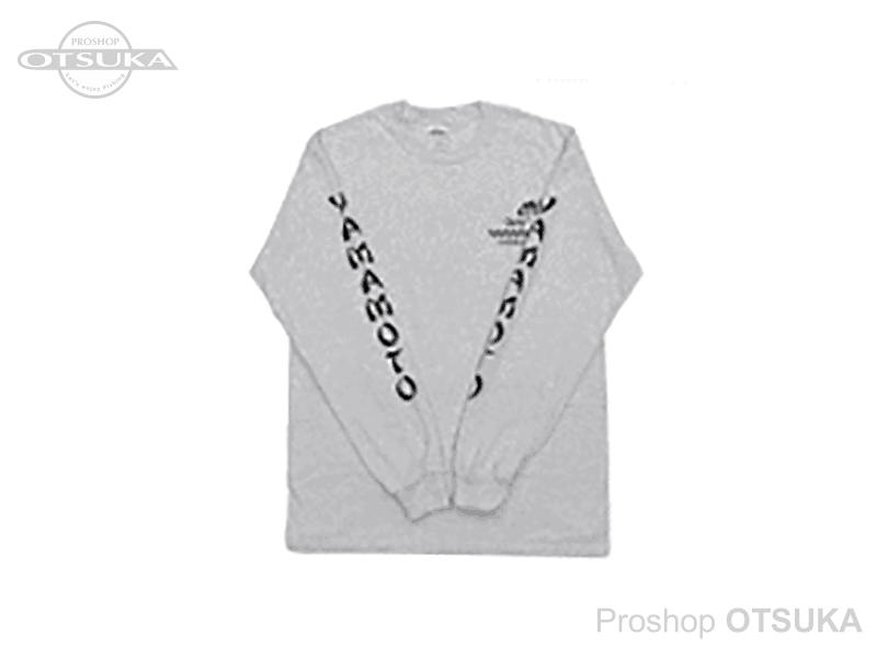 ゲーリーヤマモト ゲーリーロングスリーブTシャツ ゲーリーロングスリーブTシャツ Mサイズ(日本サイズL) #アッシュ