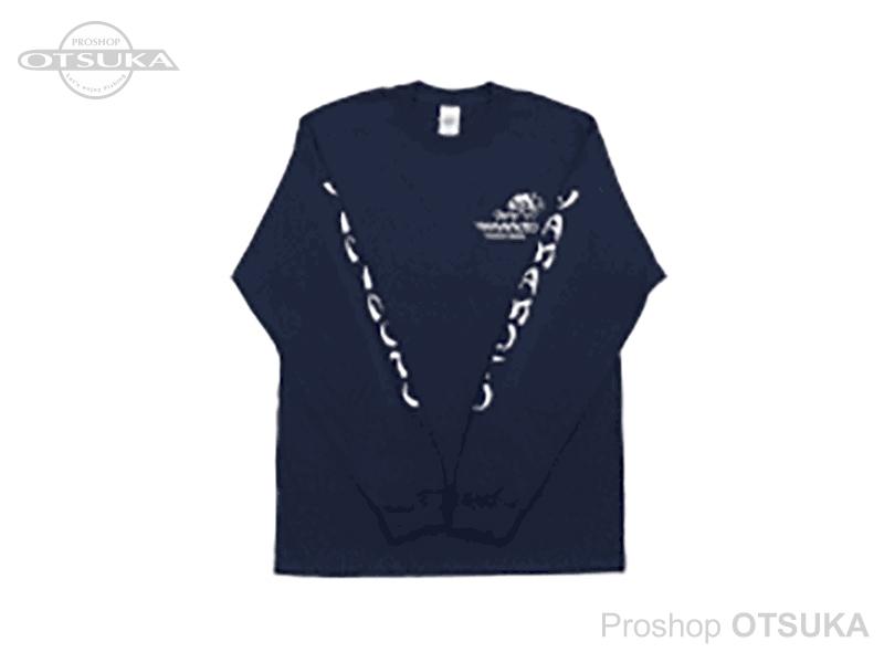ゲーリーヤマモト ゲーリーロングスリーブTシャツ ゲーリーロングスリーブTシャツ Mサイズ(日本サイズL) #ネイビー