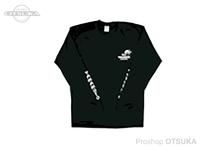 ゲーリーヤマモト ゲーリーロングスリーブTシャツ -  #ブラック L(日本サイズLL)