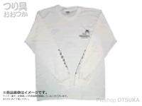 ゲーリーヤマモト ゲーリーロングスリーブTシャツ -  #ホワイト L(日本サイズLL)