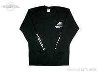 ゲーリーヤマモト ゲーリーロングスリーブTシャツ -  #ブラック Mサイズ(日本サイズL)