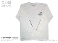 ゲーリーヤマモト ゲーリーロングスリーブTシャツ -  #ホワイト M(日本サイズL)