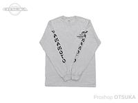 ゲーリーヤマモト ゲーリーロングスリーブTシャツ -  #アッシュ L(日本サイズLL)