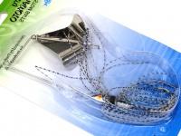 ゲーリーヤマモト ゲーリーバズ - ゲーリージャンボバズベイト #ブルーパールホワイトフィッシュスケール 1/4oz シルバーブレード