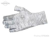 バフ グローブ - アクア #カモホワイト Sサイズ