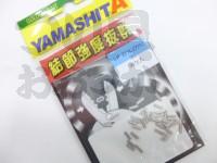 ヤマリア LPステンクリップ -  36個入 #ニッケル 3S