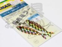 ヤマリア 集魚ミラー -  魚型 #金 L