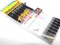 ヤマリア イカ釣・プロサビキ - 11cm-1段  5本仕掛け カラフル針