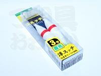ヤマリア 浮スッテ - 3-T2 #F/赤ライン 3.0号