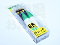 ヤマリア 浮スッテ - 3-T2 #F/緑帽 3.0号