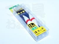 ヤマリア 浮スッテ - 2.5ー2 #F/赤ライン 2.5号