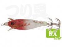 ヤマリア 水平ドロッパー 70 #F/赤白 70mm