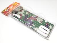 コーモラン メジャー - ワイド120 #グリーンカモ/ホワイト 120cm