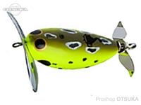ビバ でんぐりガエル -  #278N チャートフロッグ 65mm 16g 鯰SP