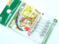ヤリエ ジグヘッド - アジメバライダー 鉛色 1.0g フックサイズ#8