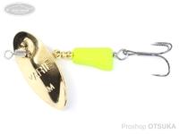 ヤリエ スピナー - ブレンダー 3.5g #SP5 gold lemon 3.5g