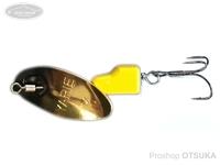 ヤリエ スピナー - ブレンダー 4.2g #SP4 ブラックイエロー 4.2g