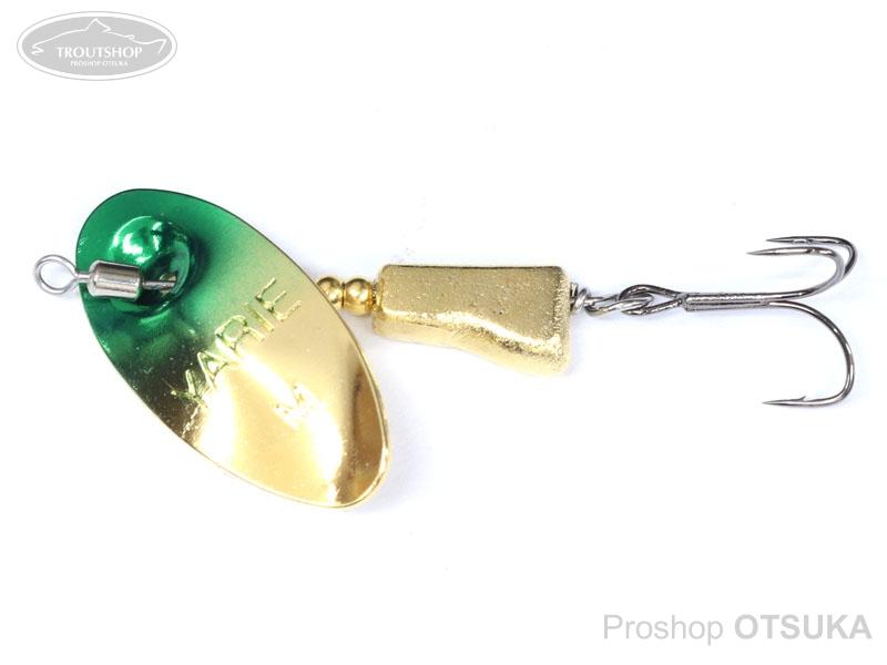ヤリエ スピナー ブレンダー 3.5g 3.5g #SP3 green gorld