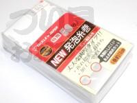 タックルインジャパン ニュー発泡糸巻 -  徳用50枚入 #ホワイト 1巻約10cm