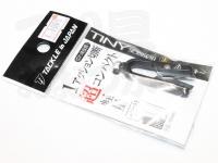 タックルインジャパン タイニーシザー -  #ブラック ストレート刃 全長45mm