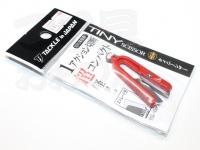 タックルインジャパン タイニーシザー -  #レッド ストレート刃 全長45mm