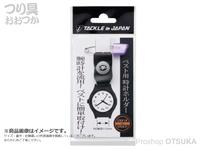 タックルインジャパン ベスト用時計ホルダー -   約95×20mm
