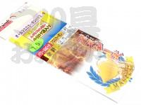 美咲 カワハギマスターズ 替鈎 -  パワースピード #金 全長6cm ハリス2.5号 鈎7.5号