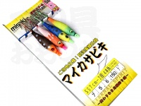 美咲 マイカサビキ - SS7cm-2段  4本角 1.5m