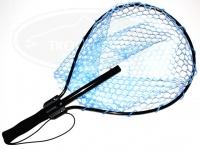 スミス ラバーネット - 0715ショート #ブルー 345×460mm ハンドル長400mm