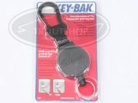 アングル キーバック - チェーン カラビナタイプ S/R パック #ブラック 48ケプラーコード仕様 コード長90cm