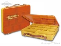 スミス SSマグナムボックス -  #蓋クリアーオレンジ/カーキ サイズ370×295×63mm