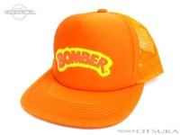 スミス キャップ - ボーマー #オレンジ フリーサイズ