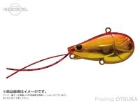 ジャクソン ちぬころバイブ - 8g #MGR マグマアカキン 8g 36mm シンキング
