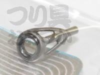 富士工業 Sicトップガイド - FST  リング径:4.5mm パイプ径:1.0mm