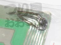 富士工業 Sicトップガイド - EMNST Eカラー リング径:5.5mm パイプ径:1.4mm