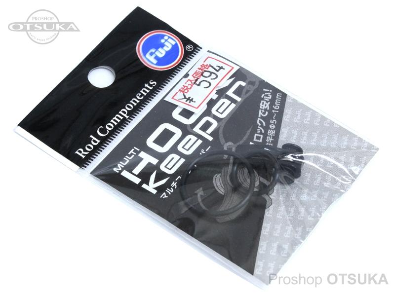 冨士工業 フックキーパー マルチフックキーパー3MHKM 適合竿径/5-16mm #ブラック